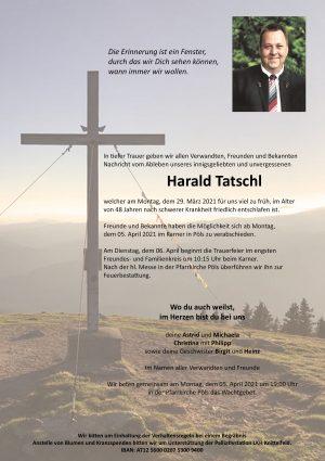 Portrait von Harald Tatschl
